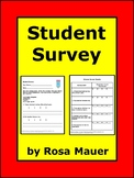 Differentiate Instruction with  Midyear or End-of-Year Survey for Students