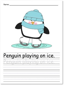 Differentiated Writing Prompts for Early Writers