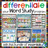 Differentiate Your Word Study Groups ESSENTIALS BUNDLE