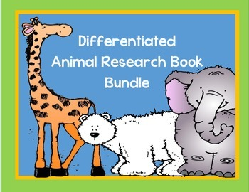 Differentiated 11 Research Books BUNDLED Plus