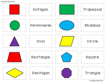 Differentiated 2D Shape Sort