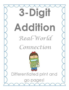 Differentiated 3-Digit Addition