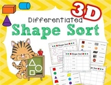 Differentiated 3D Shape Sort
