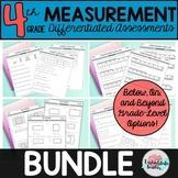 4th Grade Measurement ALL STANDARDS BUNDLE