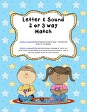 Differentiated ABC Letter and Sound match - Common Core Aligned