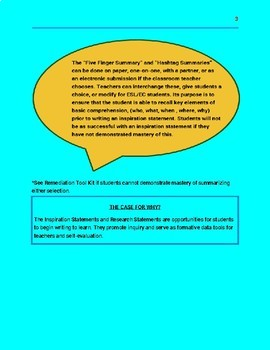 Differentiated Academic Conversations for Literacy in 6th Grade-UNIT PLAN
