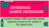 Differentiated Academic Conversations for Literacy in 7th