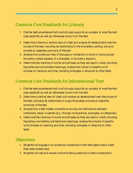 Differentiated Academic Conversations for Literacy in 8th Grade-Unit Plan