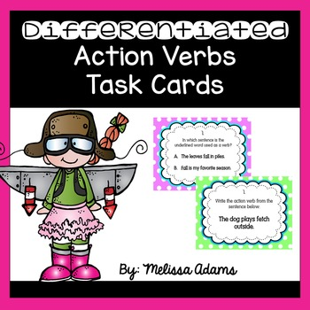 Differentiated Action Verbs