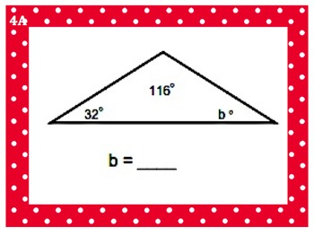 interior and exterior angles of a triangle teaching resources