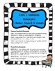 Differentiated Addition Concepts Choice Board & Goals/Scales