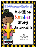 Differentiated Addition Number Story Journals - CCSS -   FREEBIE IN PREVIEW!