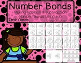 Differentiated Addition & Subtraction Number Bonds TASK CARDS Using 1-10