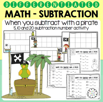 Differentiated Addition and Subtraction Activities - 5, 10 and 20 Frame
