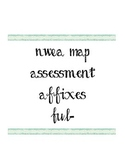 Differentiated Affixes (-ful) Aligned to Common Core NWEA MAP Assessment