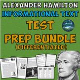Differentiated Alexander Hamilton ELA Test Prep Bundle with Annotation Assistant