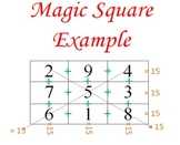 Differentiated Algebra Magic Square Activity