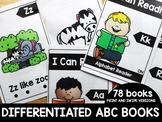 Differentiated Alphabet Books