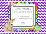 Differentiated Alphabet Books for Letter Recognition Practice in Kindergarten