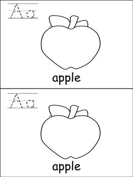 Differentiated Alphabet Emergent Readers