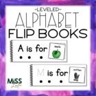 Differentiated Alphabet Flip Books