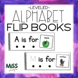 Differentiated Alphabet Flip Books