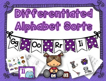 Differentiated Alphabet Sorts: IROG