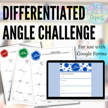 Differentiated Angles Challenge Puzzles