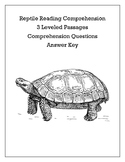 Differentiated Animal Reading Comprehension Bundle!