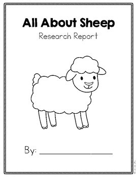 Differentiated Animal Research: All About Sheep White Edition