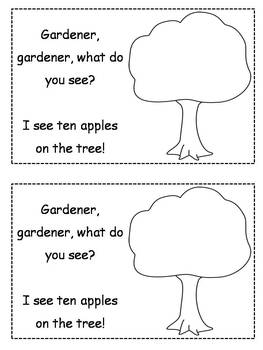 Differentiated Apple Emergent Readers