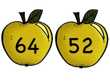 """Apple Math """"Write the Room"""" - Differentiated Pack w/ TONS of options!"""