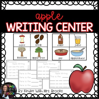 Differentiated Apple Writing Center