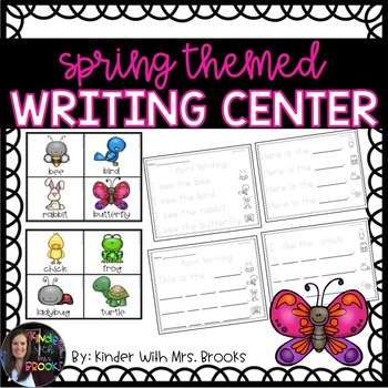 Differentiated April/Spring Writing Center