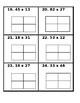 Differentiated Area Model Task Cards (Customizable)