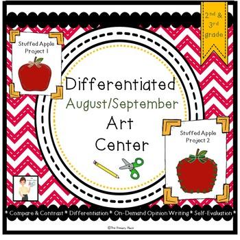 Differentiated August/September Art Center