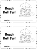 Differentiated Beach Ball Fun Emergent Readers Set