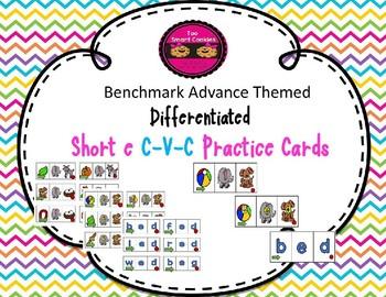4b. Differentiated Benchmark Advance Themed Short Ee C-V-C Blending Cards