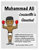 Differentiated Biography Muhammad Ali - Freebie