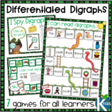 7 Differentiated Digraph Board Games for sh ch and th