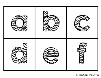 Differentiated Boggle Letters and Score Sheets