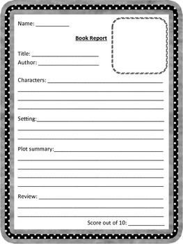 Differentiated Book Report Pack: Plot, Characters, Connections, Genre, Reviews