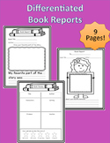 Differentiated Book Reports