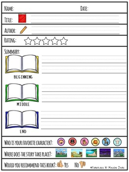 Differentiated Book Reports for Every Book Genre