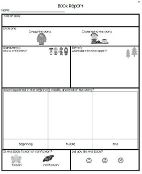 Differentiated Book Reports for Young Students