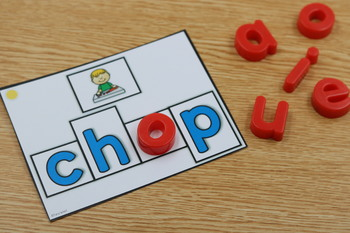Differentiated Build It Task Cards: Blends and Digraphs Version