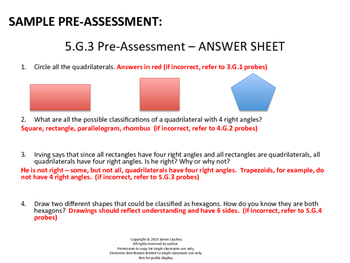Differentiated CCSS Math NO PREP Progress Monitoring Toolkit - 5th Grade Bundle