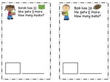 Differentiated CGI Math Problem Book