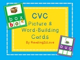 Differentiated CVC Picture and Word-Building Cards