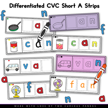 Differentiated CVC Short A Strips